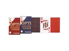 OPTI Large Index Bridge Playing Cards from Piatnik