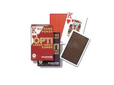 OPTI Large Number Poker Playing Cards by Piatnik