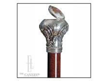 Heirloom Secret Pillbox Cane