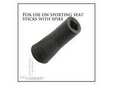 Square Ferrule/Tip (rubber) for seat stick spike
