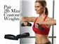 Includes Pair 2lb Mini Contour Weights